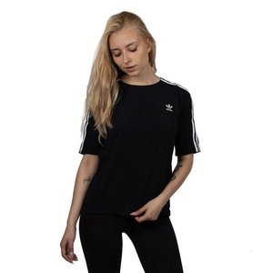Adidas Originals WMNS T-shirt 3 Stripes Tee black (DX3695)