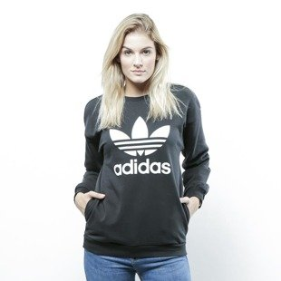 Adidas Originals sweatshirt Trefoil Sweatshirt black BP9494