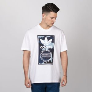 Adidas Originals t-shirt Camo Tee white