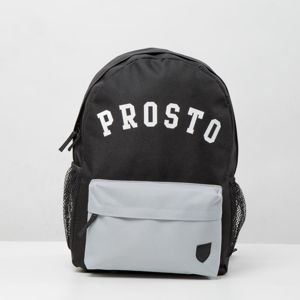 Backpack Prosto Klasyk Stalactite black