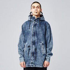Backyard Cartel Acid Jacket acid wash denim
