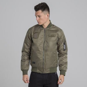 Backyard Cartel Apocalypse Bomber Jacket khaki