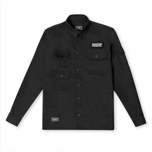 Backyard Cartel Cargo Jacket Shirt black