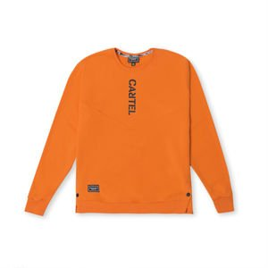 Backyard Cartel Crewneck Angle orange SS2018
