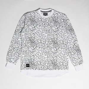 Backyard Cartel Crewneck Desert white
