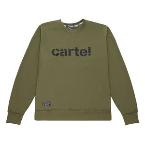 Backyard Cartel Crewneck Disaster khaki FW2017