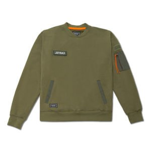Backyard Cartel Crewneck Trench khaki FW2017