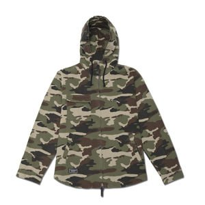 Backyard Cartel  Disaster Jacket woodland camo