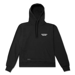 Backyard Cartel Hoody Back Label black FW2017