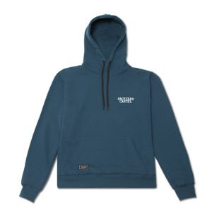Backyard Cartel Hoody Back Label navy FW2017