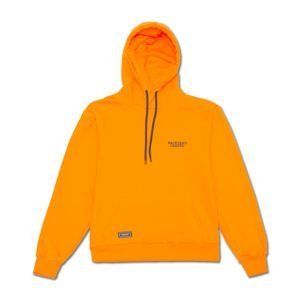 Backyard Cartel Hoody Back Label orange FW2017