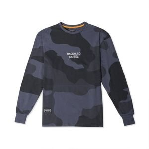 Backyard Cartel Longsleeve Trigger black camo SS2018