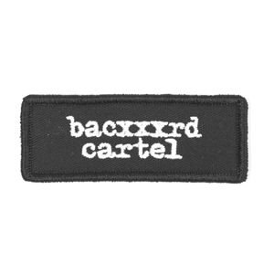 Backyard Cartel Patch Typescript black