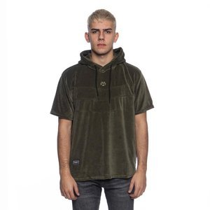 Backyard Cartel Smooth Short Sleeve Hoody khaki SS2017