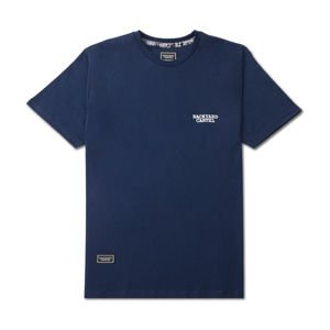 Backyard Cartel T-Shirt Back Label navy FW2017