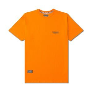 Backyard Cartel T-Shirt Back Label orange FW2017