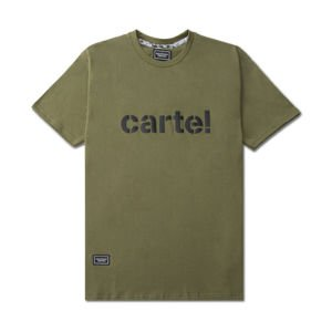 Backyard Cartel T-Shirt Disaster khaki FW2017