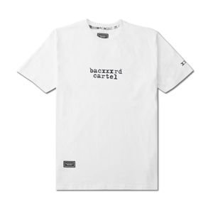 Backyard Cartel T-Shirt Typescript white