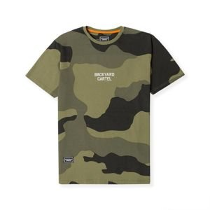 Backyard Cartel Trigger woodland camo SS2018