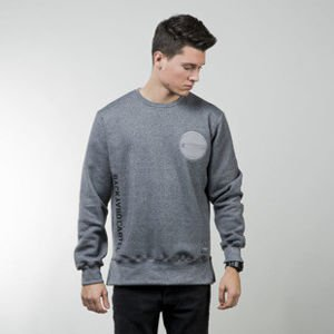 Backyard Cartel sweatshirt Side crewneck dark grey heather