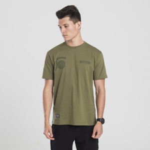 Backyard Cartel t-shirt Apocalypse khaki