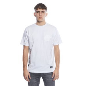 Backyard Cartel t-shirt Side white