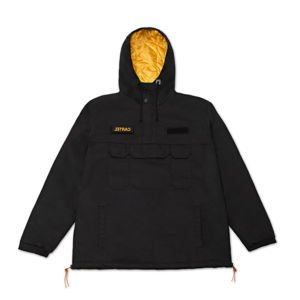 Backyard Cartel winter jacket Justice Jacket black