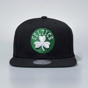 Cap Mitchell & Ness snapback Boston Celtics black Wool Solid