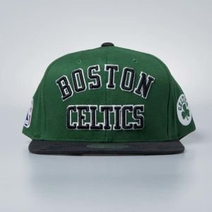 Cap Mitchell & Ness snapback Boston Celtics green Wordmark Jersey Hook