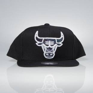 Cap Mitchell & Ness snapback Chicago Bulls black Dark Hologram