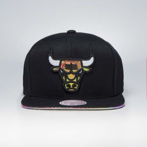 Cap Mitchell & Ness snapback Chicago Bulls black Dark Hologram II