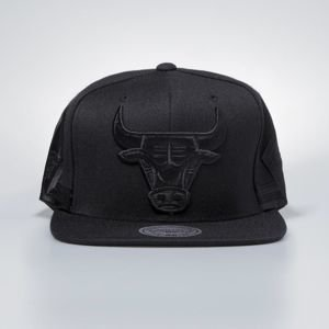 Cap Mitchell & Ness snapback Chicago Bulls black Tonal Short Hook