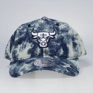 Cap Mitchell & Ness snapback Chicago Bulls denim Acid Stop On A Dime