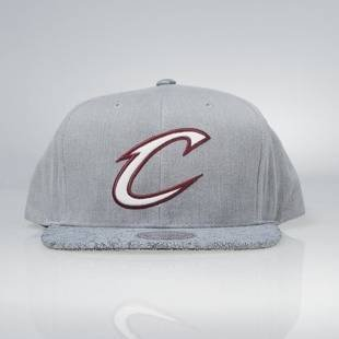 Cap Mitchell & Ness snapback Cleveland Cavaliers grey Cracked