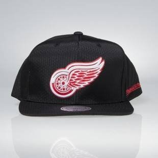 Cap Mitchell & Ness snapback Detroit Red Wings black Black Ripstop Honeycomb