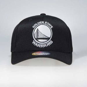 Cap Mitchell & Ness snapback Golden State Warriors black Black & White Flexfit 110