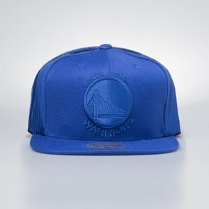 Cap Mitchell & Ness snapback Golden State Warriors royal Tonal Short Hook