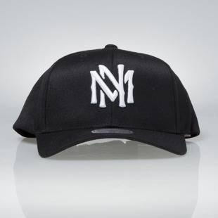 Cap Mitchell & Ness snapback M&N Logo black Team Logo High Crown Flexfit 110