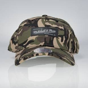 Cap Mitchell & Ness snapback M&N Logo green camo Stance Stretchfit