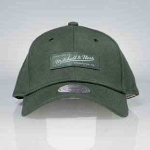 Cap Mitchell & Ness snapback M&N Logo olive Stance Stretchfit