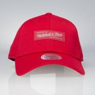 Cap Mitchell & Ness snapback M&N Logo red Stance Stretchfit