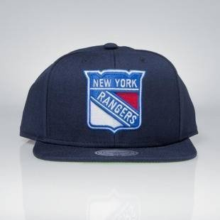 Cap Mitchell & Ness snapback New York Rangers navy Wool Solid / Solid 2