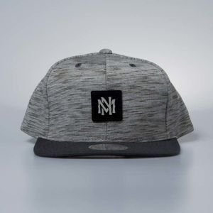 Cap Mitchell & Ness snapback Own Brand grey / black Brushed Melange
