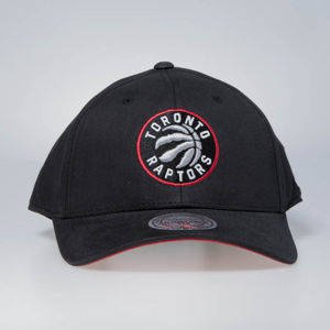 Cap Mitchell & Ness snapback Toronto Raptors black Flexfit 110 Low Pro