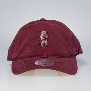 Cap Mitchell & Ness strapback Cleveland Cavaliers burgundy Team Mascot Slouch