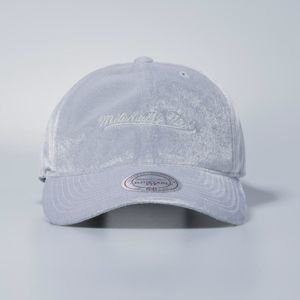 Cap Mitchell & Ness strapback Own Brand grey Velour Slouch