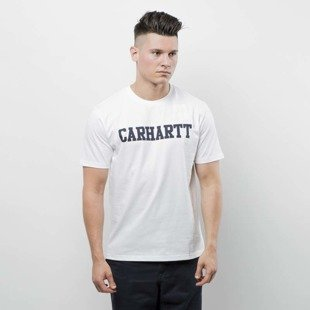 Carhartt WIP College T-Shirt ash white / black