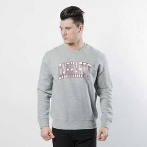 Carhartt WIP Crewneck Division Sweat grey heather / multicolor I024674