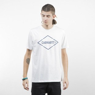 Carhartt WIP Diamond T-Shirt white / navy