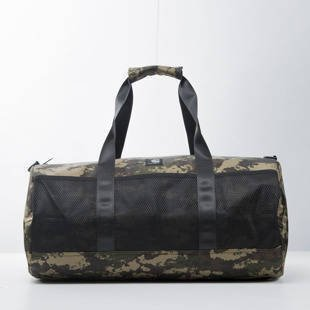 Carhartt WIP George Duffle Bag camo painted / green